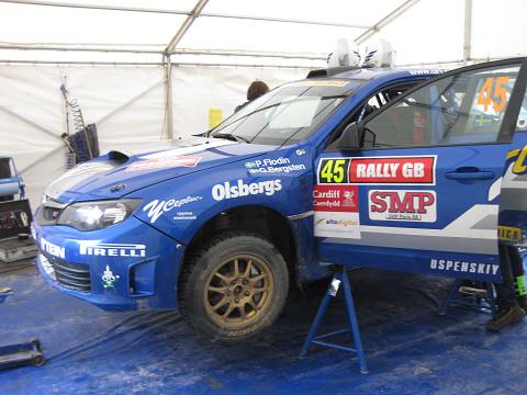 P-WRC第8戦ラリーGB DAY3 - TEIN...