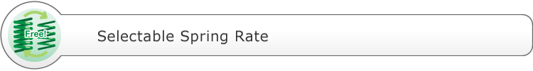Selectable Spring Rate