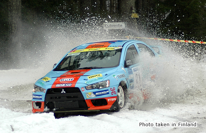 Shock absorbers for rally always face a variety of harsh extreme conditions.