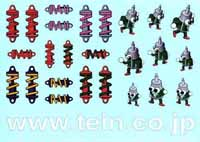 TEIN STICKER SHEET